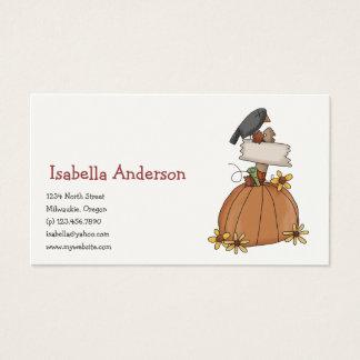 Autumn Scarecrows Business Card