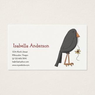 Autumn Scarecrows · Crow Business Card