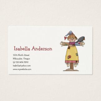 Autumn Scarecrows · Scarecrow 1 Business Card