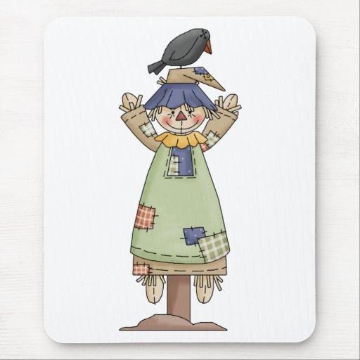 Autumn Scarecrows · Scarecrow 7 Mouse Pad