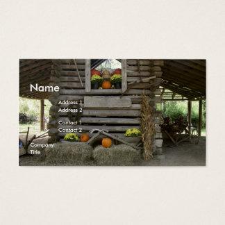 Autumn Scene Business Card