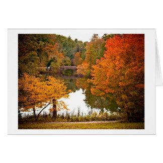 Autumn Scene Card