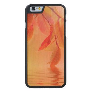 Autumn Scene Carved Maple iPhone 6 Slim Case