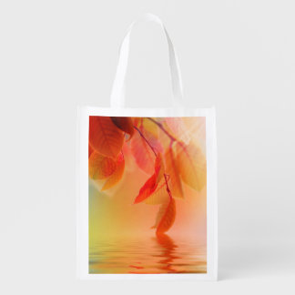 Autumn Scene Grocery Bag