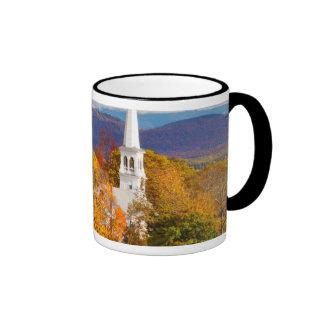 Autumn Scene In Peacham, Vermont, USA Mug