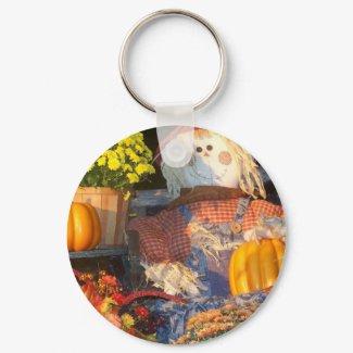 Autumn Scene keychain