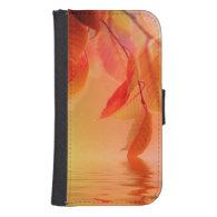 Autumn Scene Phone Wallets