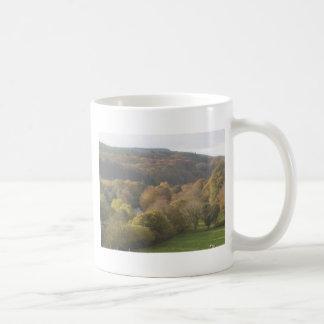 Autumn scene wicklow,Ireland Classic White Coffee Mug