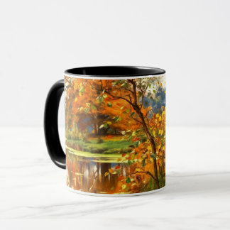 Autumn Scenery Painting Gift Mugs