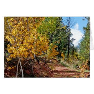 Autumn Scenic Notecard