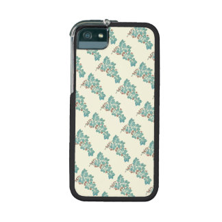 Autumn Season Botanical Ivy and Berries Pattern iPhone 5/5S Cases