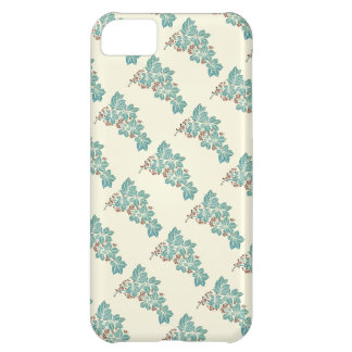 Autumn Season Botanical Ivy and Berries Pattern iPhone 5C Cases