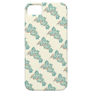 Autumn Season Botanical Ivy and Berries Pattern iPhone SE/5/5s Case
