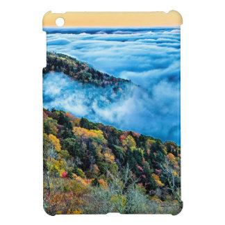 autumn season morning on blue ridge parkway mounta iPad mini cases