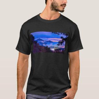 autumn season morning on blue ridge parkway mounta T-Shirt