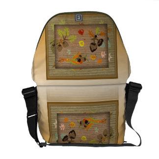 Autumn Season Rickshaw Messenger Bag