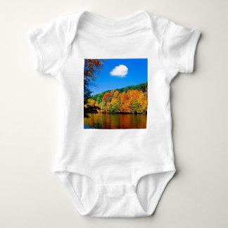 Autumn Seasonal Shoreline Baby Bodysuit