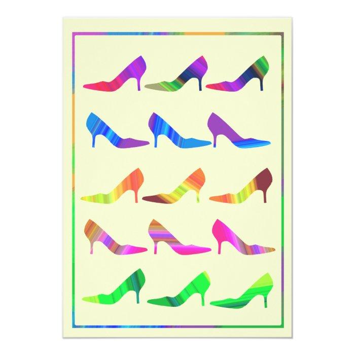 Autumn Shades of Stilettos Card