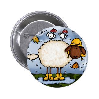 autumn sheep button