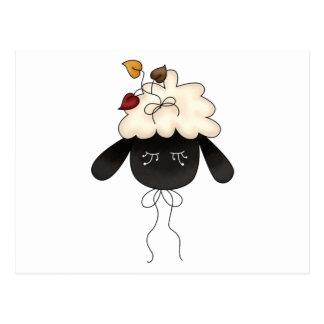 Autumn Sheep · Sheep & Autumn Leaves Post Cards