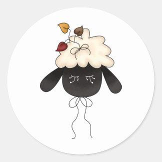 Autumn Sheep · Sheep & Autumn Leaves Stickers