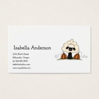 Autumn Sheep · Sheep & Pumpkins Business Card