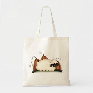Autumn Sheep · Sheep & Pumpkins Canvas Bags