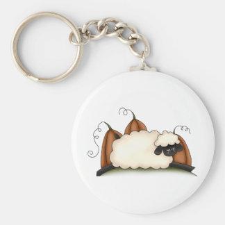 Autumn Sheep · Sheep & Pumpkins Key Chains