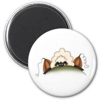 Autumn Sheep · Sheep & Pumpkins Refrigerator Magnets