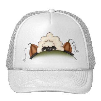 Autumn Sheep · Sheep & Pumpkins Trucker Hat