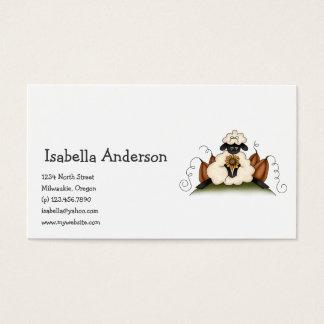 Autumn Sheep · Sheep, Sunflower & Pumpkins Business Card