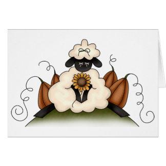 Autumn Sheep · Sheep, Sunflower & Pumpkins Cards