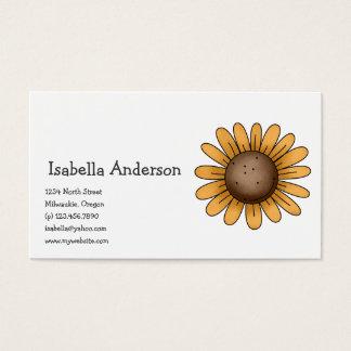 Autumn Sheep · Sunflower Business Card