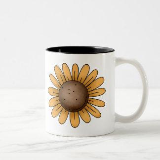 Autumn Sheep · Sunflower Coffee Mug