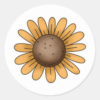 Autumn Sheep · Sunflower Stickers