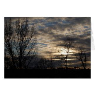 Autumn Skies Card