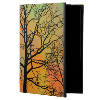 Autumn Skies Tree Silhouette Cover For iPad Air