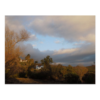 Autumn Sky After Storm in Templeton, CA Postcard