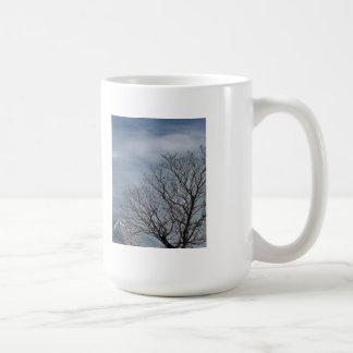 Autumn Sky with Observatory Classic White Coffee Mug