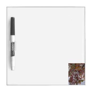 Autumn Snow Dry Erase Board