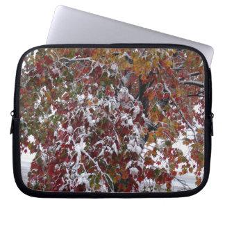 Autumn Snow Electronics Bag Laptop Sleeve