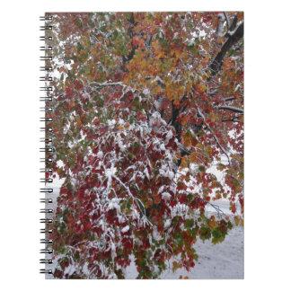 Autumn Snow Notebook
