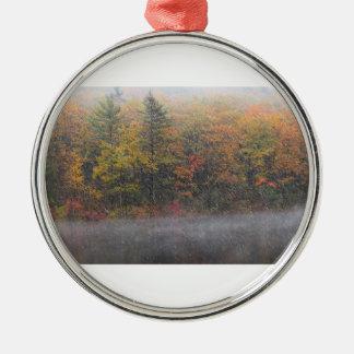 Autumn Snow Storm Ornament