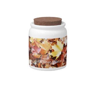 Autumn soul candy dish