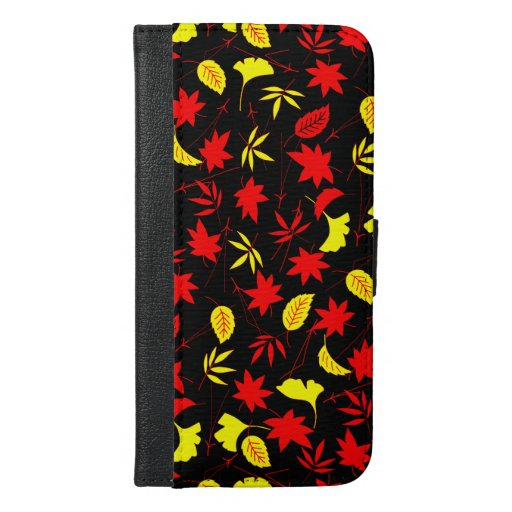 Autumn Spell Print iPhone Wallet Case