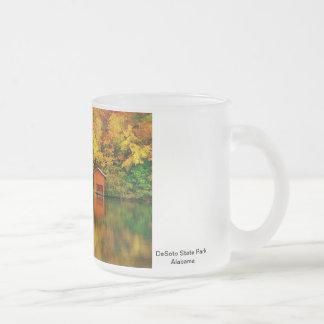 Autumn Splendor, DeSoto State Park, AL Frosted Mug