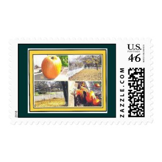 AUTUMN SPLENDOR stamp