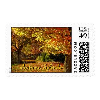 Autumn Splendor Stamp