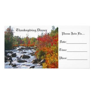 Autumn Splendor / Thanksgiving Card