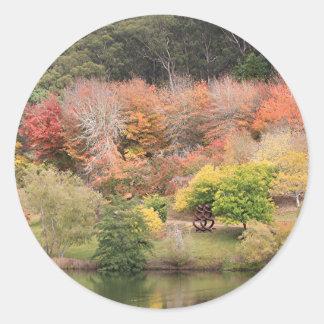 Autumn splendour, Adelaide Hills 2 Classic Round Sticker